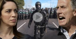 Grave: Macri manda a Gendarmería a reprimir en el Hospital Posadas el reclamo de los trabajadores
