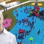 Escándalo: el PRO gastó más de $40 millones en la pileta falsa de plástico ($39 millones en «logística»)