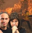 Casi 1 millón de hectáreas quemadas en La Pampa mientras Macri, Bergman y Bullrich recortan entre 25% y 50% del presupuesto del área