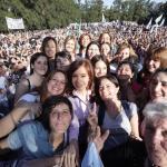 Cristina Kirchner le hace un guiño al feminismo