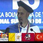 """Daniel Estulin: """"Podemos dividir el mundo en 6 Proyectos Globales"""". Conferencia Magistral en TSJ de Venezuela"""