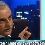 """Moreno: """"Macri está terminado. Ahora tenemos que derrotar a las mil familias de la oligarquía"""""""
