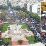 Infiltrados y represión: la maniobra de Macri para romper la movilización contra el Presupuesto acordado con el FMI