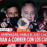 Escándalo: Juez Carzoglio acusó a Clarín y La Nación y denunció amenazas de muerte para obligarlo a detener a Pablo Moyano