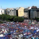 200.000 personas reclamaron por paritarias acorde a inflación bajo la consigna #TierraTechoTrabajo