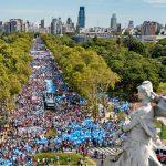 300.000 personas marcharon en Capital contra la legalización del aborto. La convocatoria se replicó en todo el país
