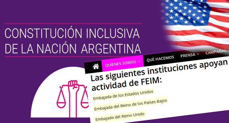 """""""Lenguaje inclusivo"""": Una solución engañosa para la desigualdad social. ConstitucionInclusiva-FEIM-EEUU-Inglaterra"""
