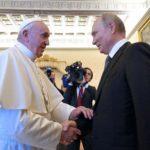 Francisco recibió a Putin y conversaron sobre la necesidad de paz en Siria, Venezuela y Ucrania
