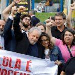 """Lula en libertad: """"Estoy más fortalecido. Tengo más coraje. Hay que continuar luchando para mejorar la vida del pueblo brasileño"""""""