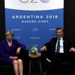 """Imputan por """"traición a la Patria"""" a Macri, Dietrich y Aranguren por acuerdos con Gran Bretaña sobre Malvinas"""