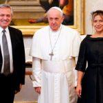 """Francisco recibió a AF: hablaron de """"pobreza, corrupción, narcotráfico y protección de la vida desde su concepción"""""""