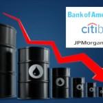 Quiebra de petroleras podría hundir a los principales bancos de EEUU: JP Morgan, Citi y Bank of America