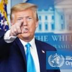 """Trump suspende la financiación de la OMS por """"mala gestión"""" y """"encubrimiento"""": """"Debe rendir cuentas"""""""