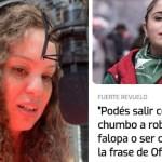 """Mayra Arena, delito y progresismo: """"lograrán que ningún laburante jamás se identifique con ustedes"""""""