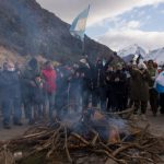 Frederic denunció a los vecinos que protestan en Bariloche contra las tomas en Villa Mascardi. El rol de Gran Bretaña en la desestabilización de la región