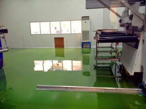 Epoxy Lantai Pabrik PT.CS 2