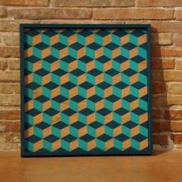 Plateau Graphique – Cubes