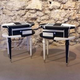 Bouts de canapé «Bauhaus»