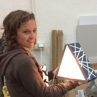 Atelier lampe graphique