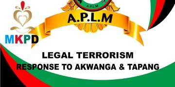 Response to akwanga and tapang
