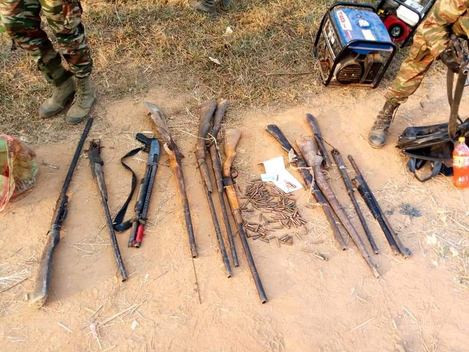 These are the weapons they think can defeat the Cameroon Army. LoL