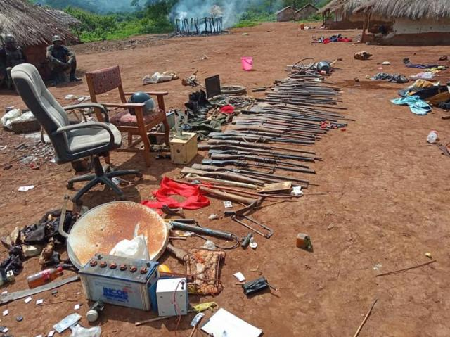 Not a SINGLE AK47. The Amba boys are VICTIMS of a Vicious Criminal SCAM.