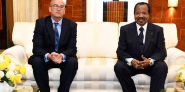 British High Commissioner to Cameroon - With HE President Paul Biya