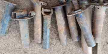Ambazonia Primitive Fabricated Home-Made Bombs with Gun Powder