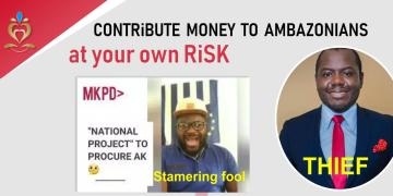 Contribute money to Ambazonians at your own risk