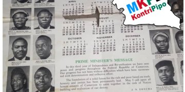 Prime minister (J N Foncha) message to west Cameroon in 1964