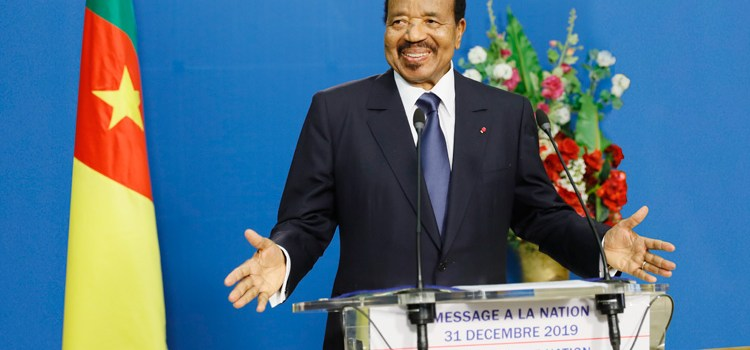 End of Year Speech by the President Paul Biya, 31 Dec 2019