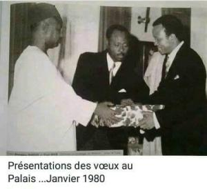 President Ahidjo and Paul Biya in January 1980