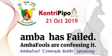 Amba has failed - Amba Are confessing it -