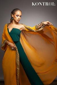 Serayah Covers Kontrol Magazine Beauty Issue