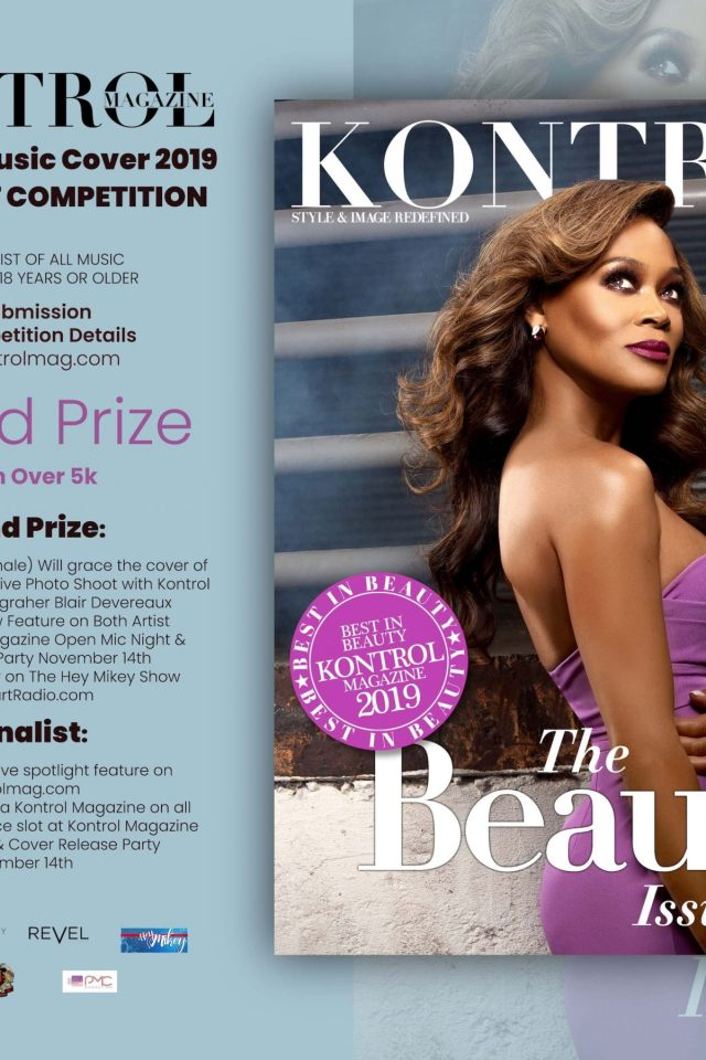 , Kontrol Magazine Fashion & Music Cover 2019 New Artist Competition