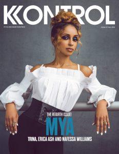 Mya Covers Kobtrol Magazine