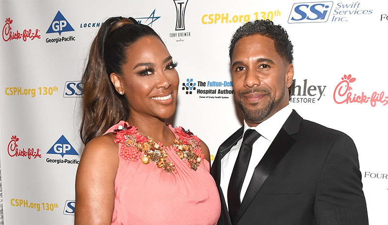 , It's Splitsville! Kenya Moore & Marc Daley, Announce They're Divorce After 2 Years of Marriage!