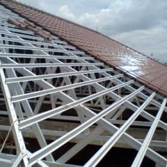 Pasang Atap Baja Ringan Cianjur Jasa Pemasangan Rangka Tukang Kanopi Harga