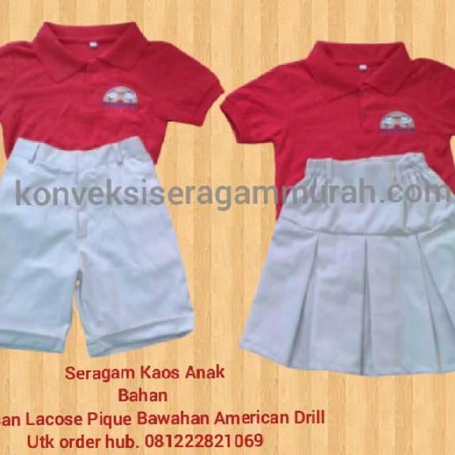 sketsa gambar seragam sekolah tk di Tangerang Banten