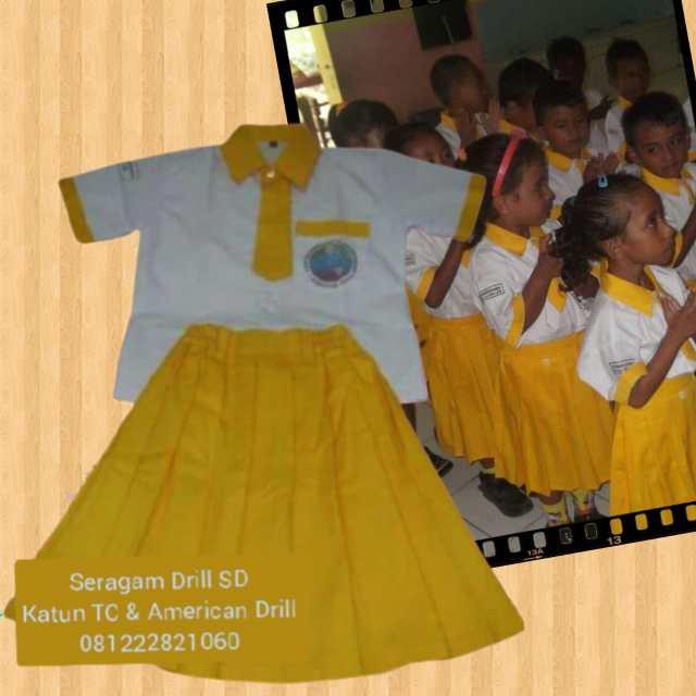 Bikin Seragam Sekolah TK Lautém Timor Leste
