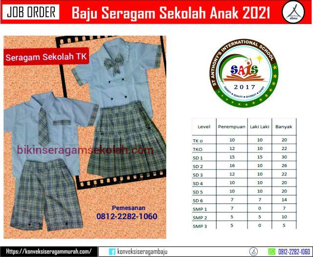 seragam sekolah tk islam murah di Taman Sari Jakarta Barat
