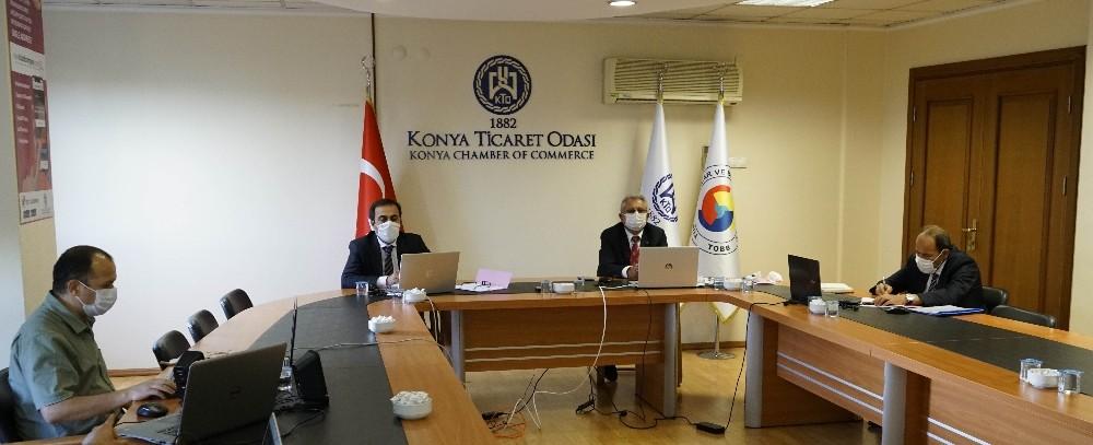 KTO'nun Ağustos ayı meclis toplantısı yapıldı