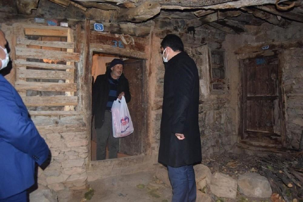 Hadim Kaymakamı Gilan'dan engelli vatandaşlara ziyaret