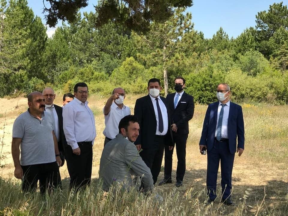 Beyşehir ve Hüyük'teki Aile ve Sosyal Hizmetler Bakanlığı projelerine inceleme