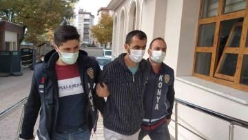 Konya'da otobüste tartıştığı şahsı vuran şüpheli tutuklandı