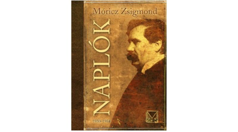 Móricz Zsigmond: Naplók. 1930-1934, borító