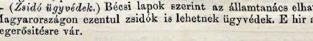 Zsidó ügyvédek (1862. március 16.)