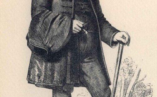 Deák Ferenc portréja (1861)