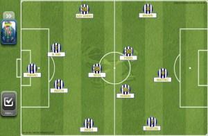 Grundformation von FC Porto gegen Martimo Funchal