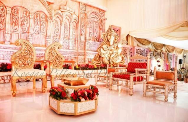 Traditional Wedding Decor Kzn : Koogan pillay wedding decor durban indian hire event